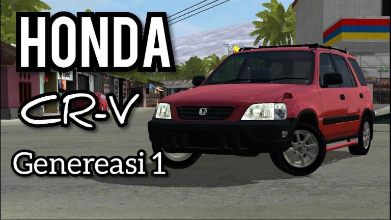 Honda CR-V Gen 1 Car Mod for Bus Simulator Indonesia
