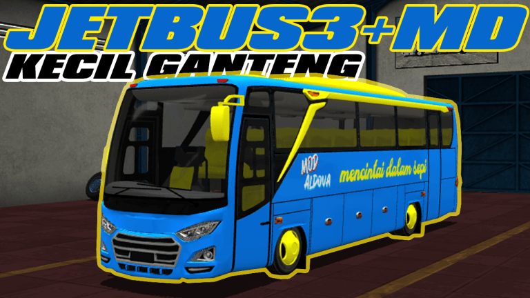 JetBus3+ MD Bus Mod for Bus Simulator Indonesia