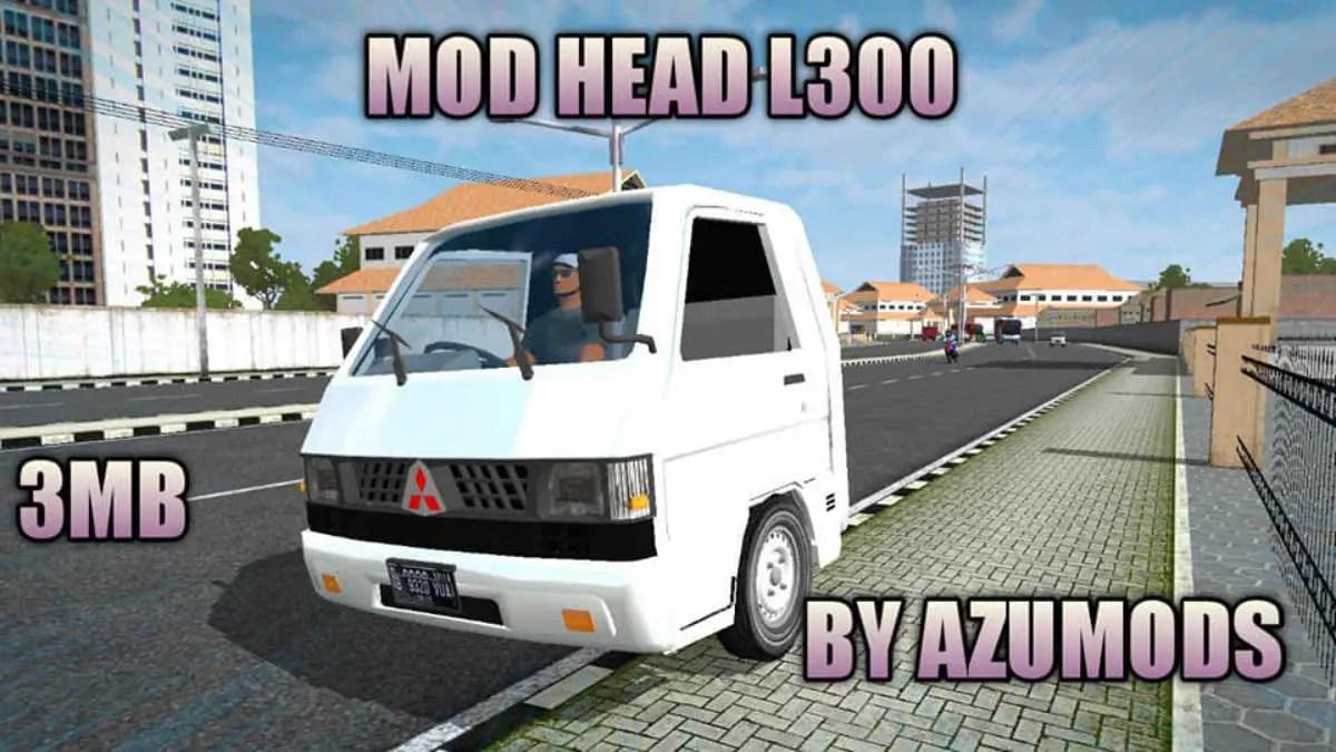 Download L300 Head Mod for Bus Simulator Indonesia, L300 Head, AZUMODS, BUSSID mod, Elsa L300, L300 Head Mod for BUSSID, MITSUBISHI L300, MITSUBISHI L300 Mod for BUSSID, Mod BUSSID, Mod for BUSSID, SGCArena, Vehicle Mod