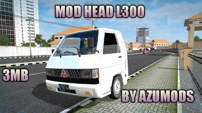 L300 Head Mod for Bus Simulator Indonesia