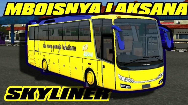 Laksana Skyliner Bus Mod for Bus Simulator Indonesia