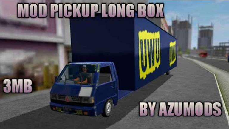 PICKUP With LONG BOX Mod for Bus Simulator Indonesia