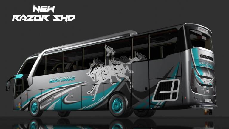 Razor SHD Bus Mod for Bus Simulator Indonesia