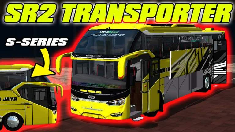 SR2 Transporter Bus Mod for Bus Simulator Indonesia