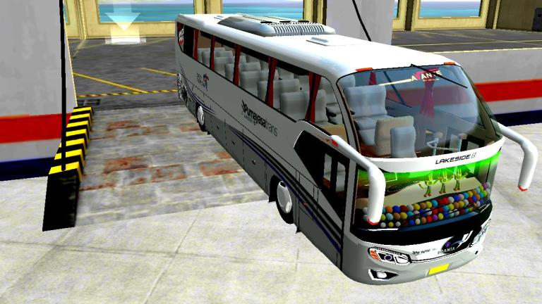 TENTREM AVANTE HDD SCANIA K360 Mod for BUSSID
