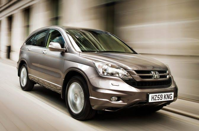 Honda CR-V Car Mod for BUSSID