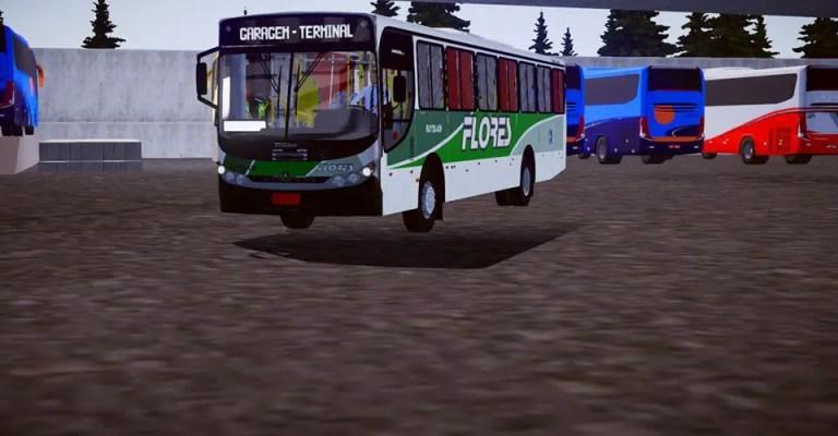 Induscar Gaius Apache VIP II Mod for Proton Bus Simulator