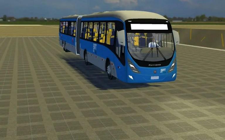 Marcopolo Viale Brt Bus Mod for Proton Bus Simulator