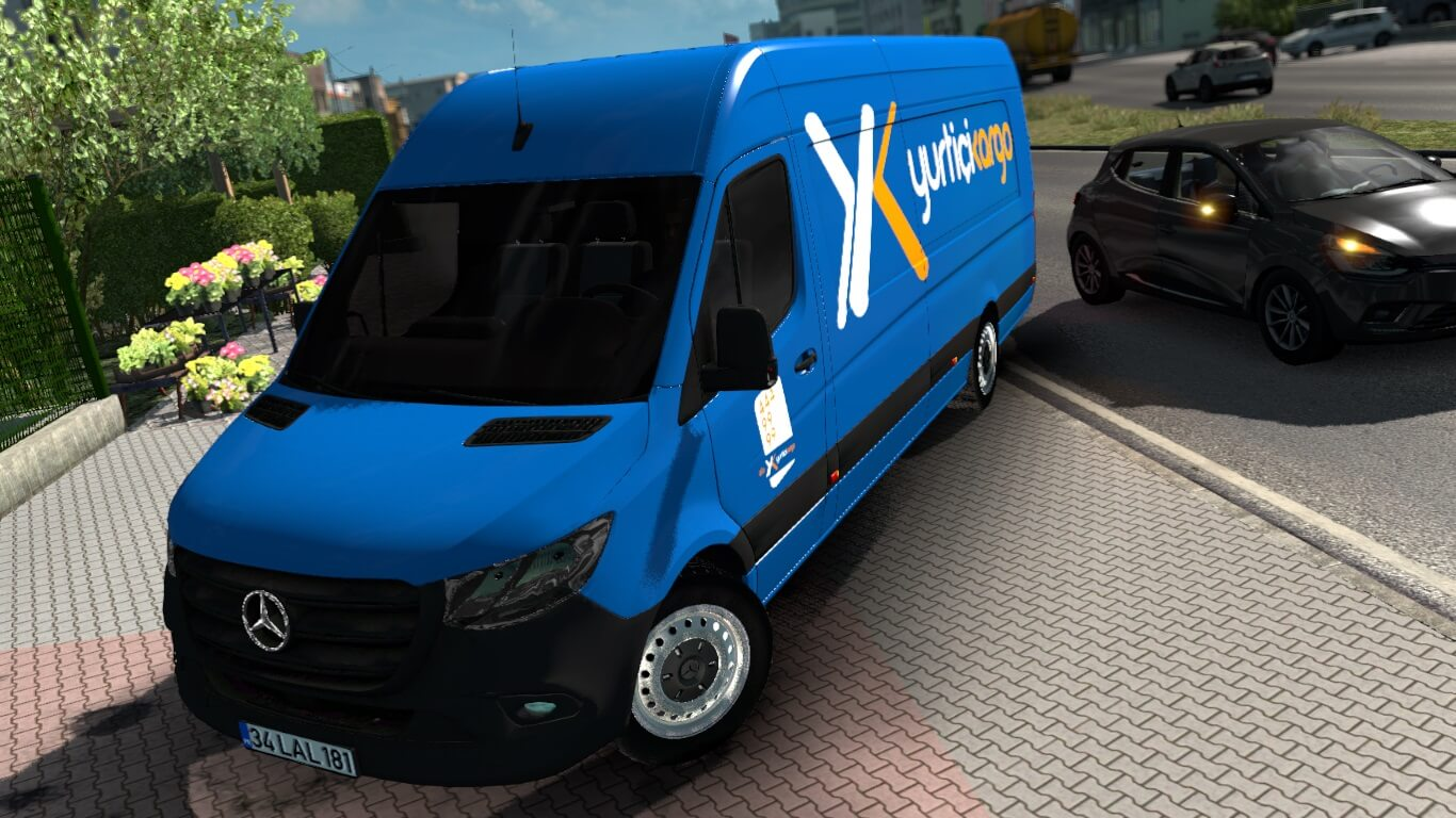 Mercedes-Benz Sprinter, Mercedes-Benz Sprinter 2019, Mercedes-Benz Sprinter 2019 Mod, Mercedes-Benz Sprinter Mod, Mercedes-Benz Mod ETS2, ETS2 Mod Mercedes-Benz Sprinter, Mercedes-Benz Sprinter 2019 Mod ETS2, SGCArena,