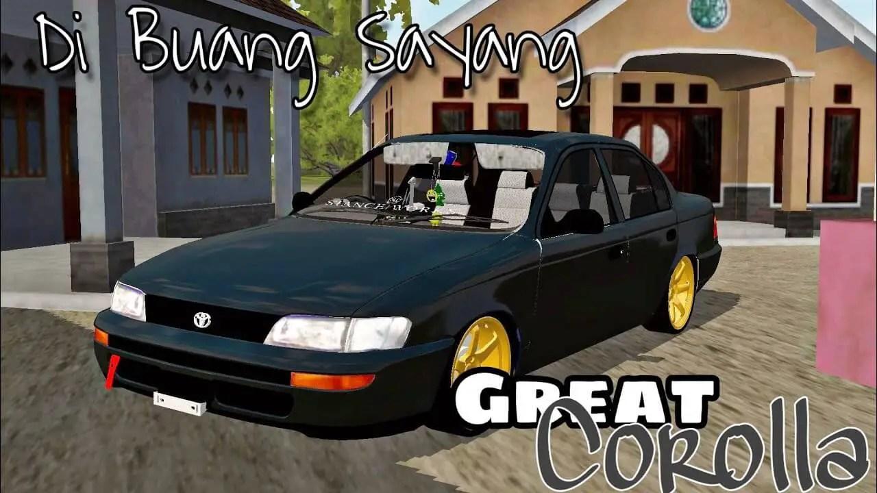 Toyota Great Corolla, Toyota Great Corolla Mod, Toyota Great Corolla Mod BUSSID, Mod Toyota Great Corolla, Mod BUSSID Toyota Great Corolla, BUSSID Mod, SGCArena