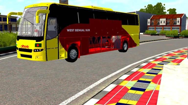 Volvo B7R Bus Mod for Bus Simulator Indonesia