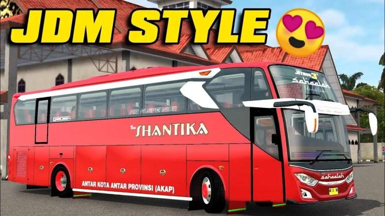 JB3+ SHD HINO RK Mod for Bus Simulator Indonesia