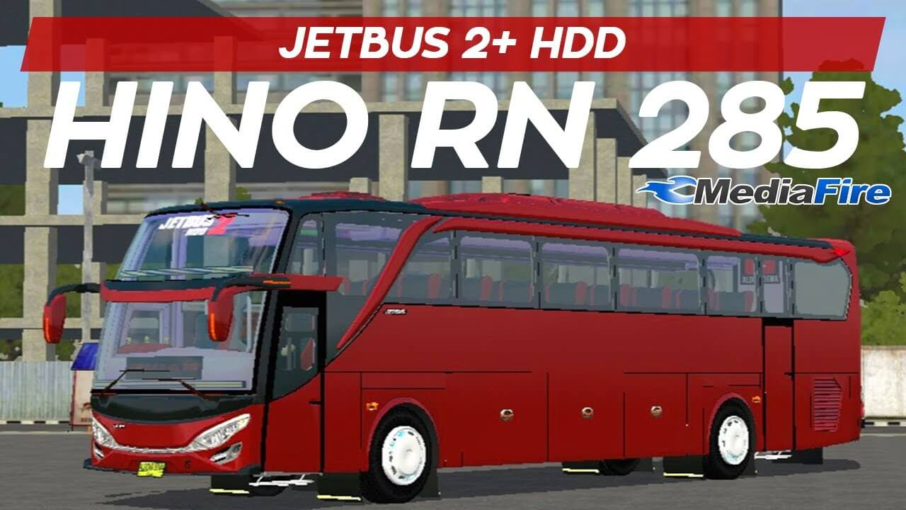 JETBUS2+ HDD HINO RN 285, JETBUS2+ HDD HINO RN 285 Mod BUSSID, Mod BUSSID JETBUS2+ HDD HINO RN 285, Mod JETBUS2+ HDD HINO RN 285 BUSSID, BUSSID BUs Mod, JETBUS2+ HDD Mod BUSSID, SGCArena