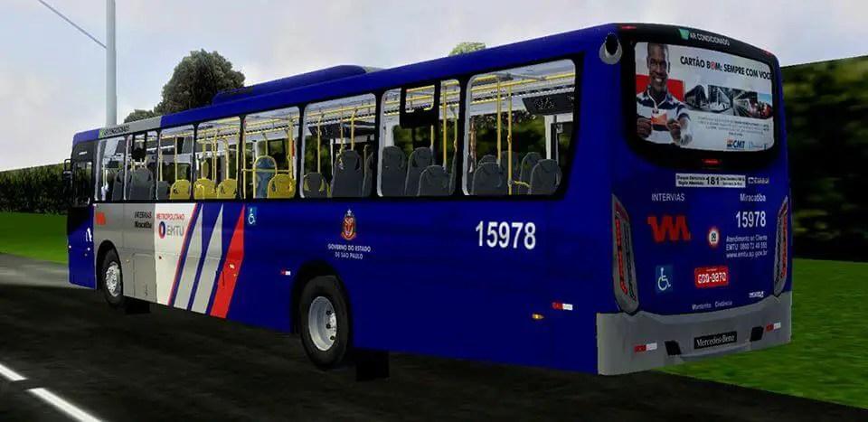 Gaius Apache VIP IV MB 1724 L | Miracatiba Standard,Gaius Apache VIP IV MB 1724 L Mod Proton Bus, Gaius Apache VIP IV MB 1724 L | Miracatiba Standard Bus Mod Proton Bus Simulator, Proton Bus Mod, PBS Mod, Mod Proton Bus Simulator, SGCArena
