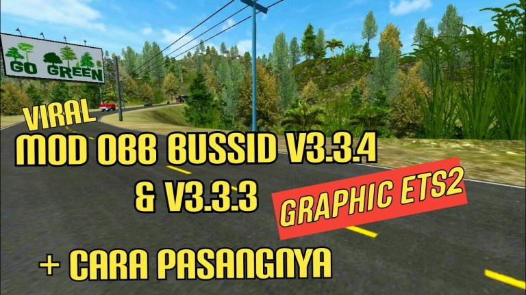 BUSSID V3.3.4 Obb: ETS2 HD Graphic and Sound Hino RK8