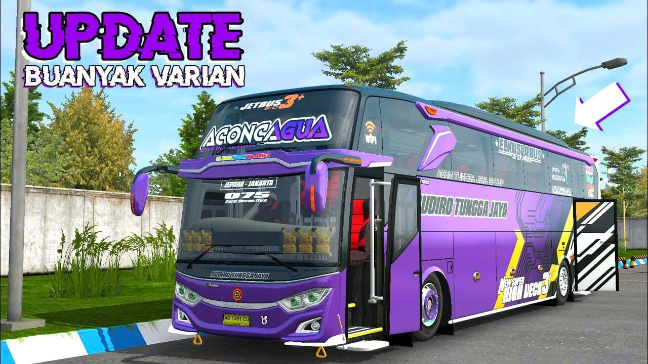 Download Update JB2 SHD Bus Mod BUSSID from SGCArena, BUSSID Bus Mod