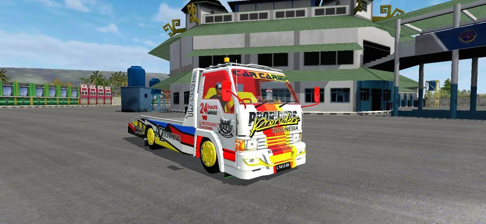 Ragasa Towing Proiders, Ragasa Towing Proiders Truck mod BUSSID, TruckMod Ragasa Towing Proiders BUSSID, BUSSID Truck Mod, BUSSID Mod, RMC Creation