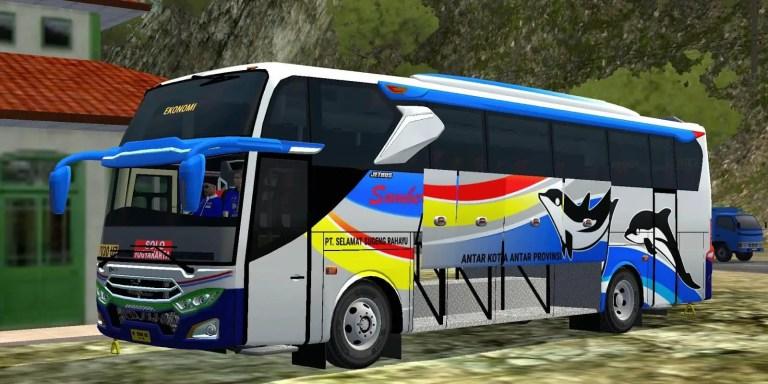 Hino AK8 JB3+ Voyager Bus Mod BUSSID