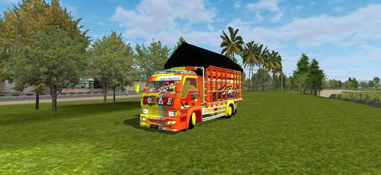 RAGASA DEDE AWE Truck Mod for BUSSID