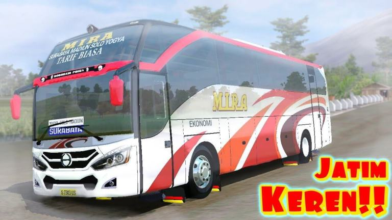 MPGT Mira Special Bus Mod for BUSSID