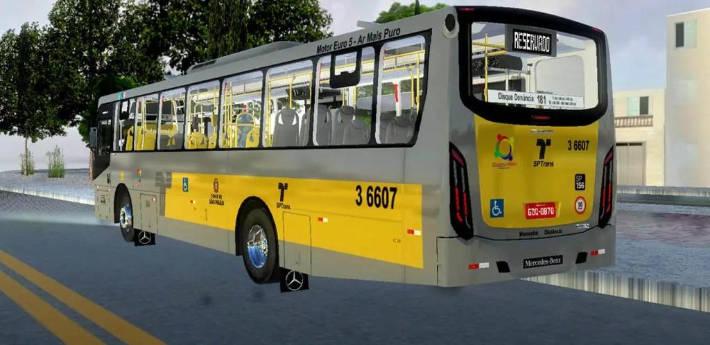 Download Gaius Apache VIP IV MBB 1724 L | SPTrans Standard Mod for Proton Bus, , DRBS Edit, PBS Bus Mod