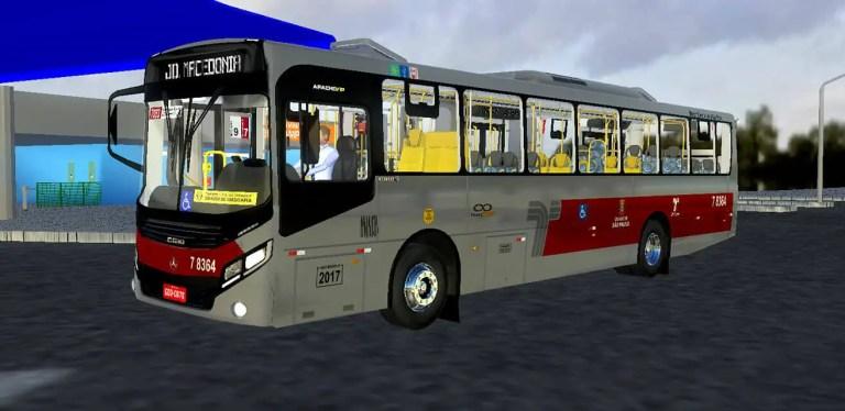 Gaius Apache VIP IV MBB 1724 L | SPTrans Standard Mod for Proton Bus