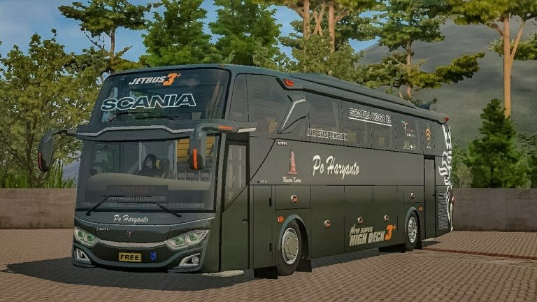 JetBus3 Scania Bus Mod for BUSSID