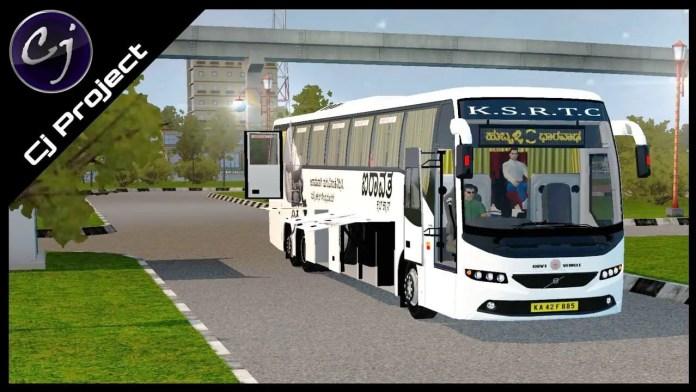 Volvo B11R V2 Mod BUSSID, BUSSID Mod v, Mod Volvo B11R V2 BUSSID, BUSSID Bus Mod, CJ Project, BUSSID Mod
