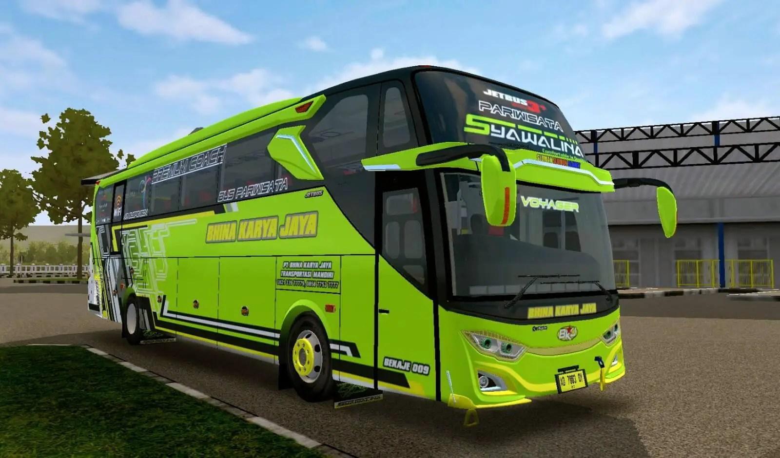 Jetbus 3+ Voyager Angga Saputro, Jetbus 3+ Voyager Mod BUSSID, Mod Jetbus 3+ Voyager BUSSID, BUSSID Mod Jetbus 3+ Voyager, BUSSID Bus Mod