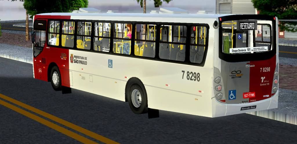 Download Gaius Apache VIP III MBB 1721 BT5 | SPTrans Standard Mod for Proton Bus, ,