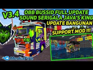 FREE Download New BUSSID Obb Mod for BUSSID V3.4