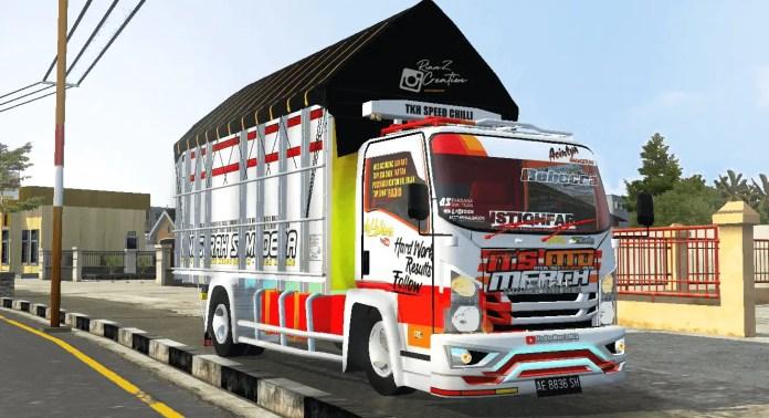 NMR 71 OTO Merch Truck Mod, NMR 71 OTO Merch Mod BUSSID, Mod NMR 71 OTO Merch BUSSID, BUSSID Mod NMR 71 OTO Merch, BUSSID Truck Mod