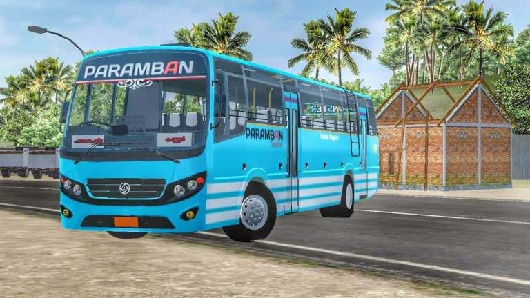 Victory Coach Indian Bus Mod for BUSSID