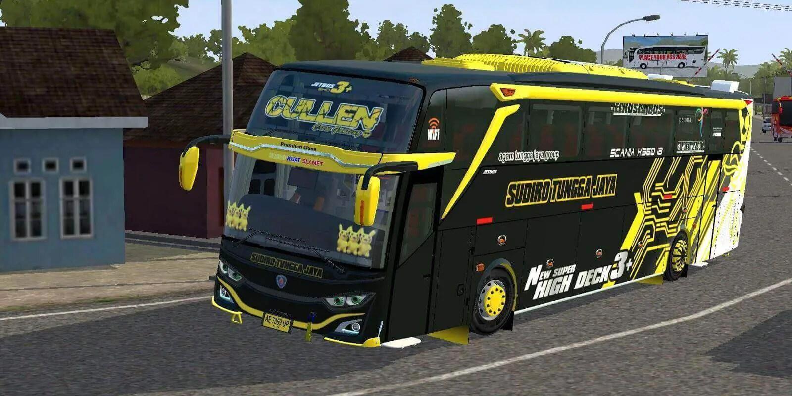 JetBus3+ SHD Scania K360 Mod BUSSID, Mod JetBus3+ SHD Scania K360 BUSSID, BUSSID Bus Mod, Scania Bus Mod BUSSID, BUSSID Mod