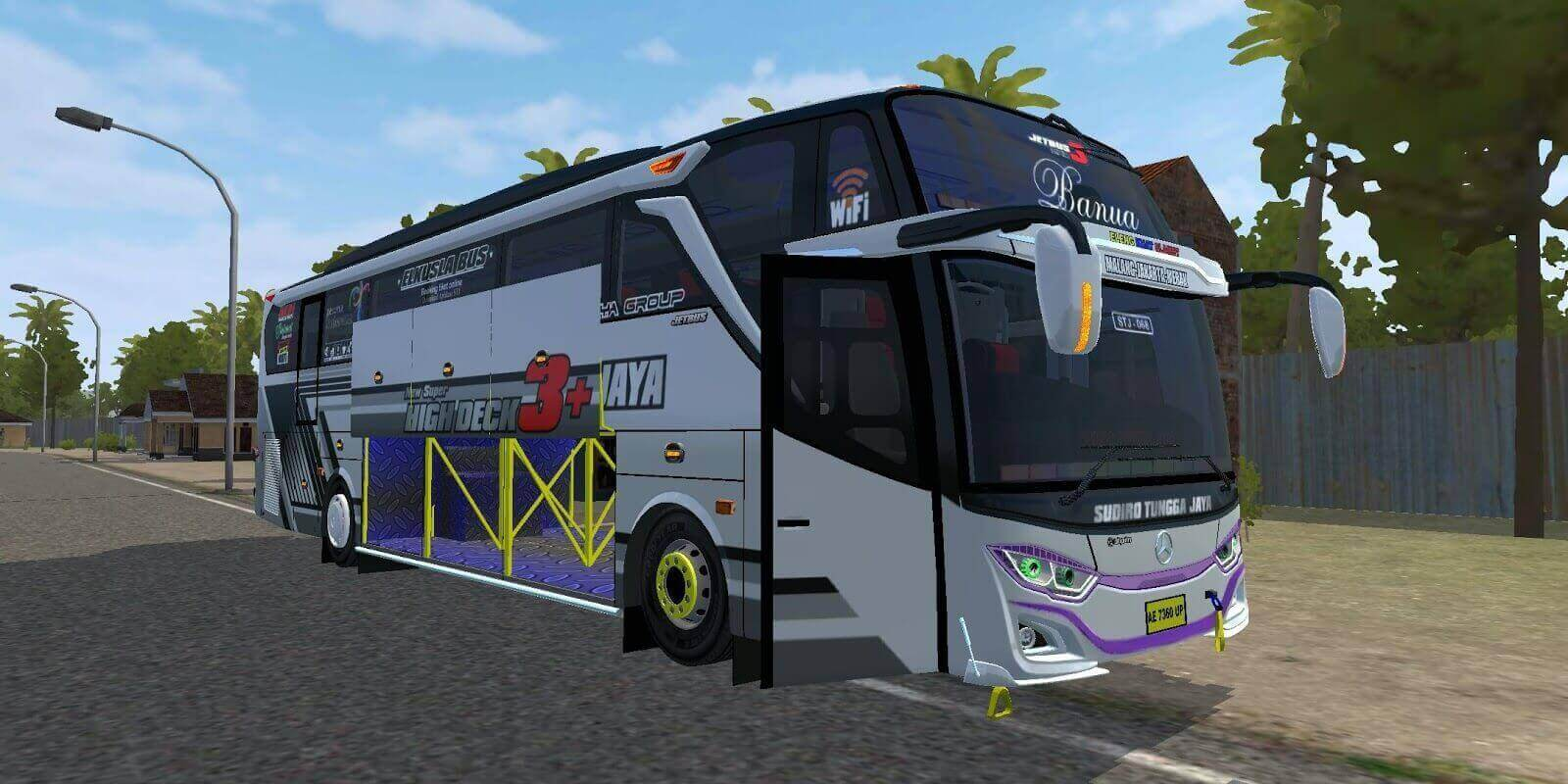 Jetbus 3+ MHD Mercedes-benz OH 1626 Bus Mod BUSSID