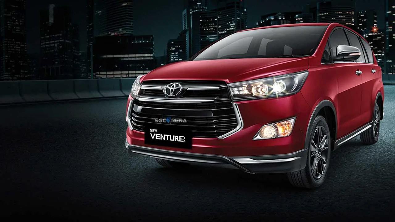 New Toyota Kijang Innova Venturer Car Mod for Bus Simulator Indonesia (BUSSID) by SGCArena