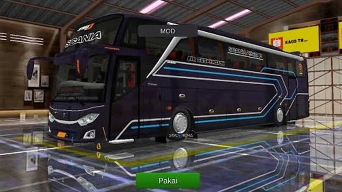 Download New Jetbus SHD Scania Mod Bus Bus Simulator indonesia | BUSSID Bus Mod