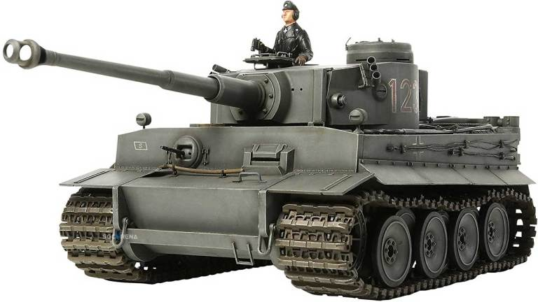Tank Tiger Mod for BUSSID