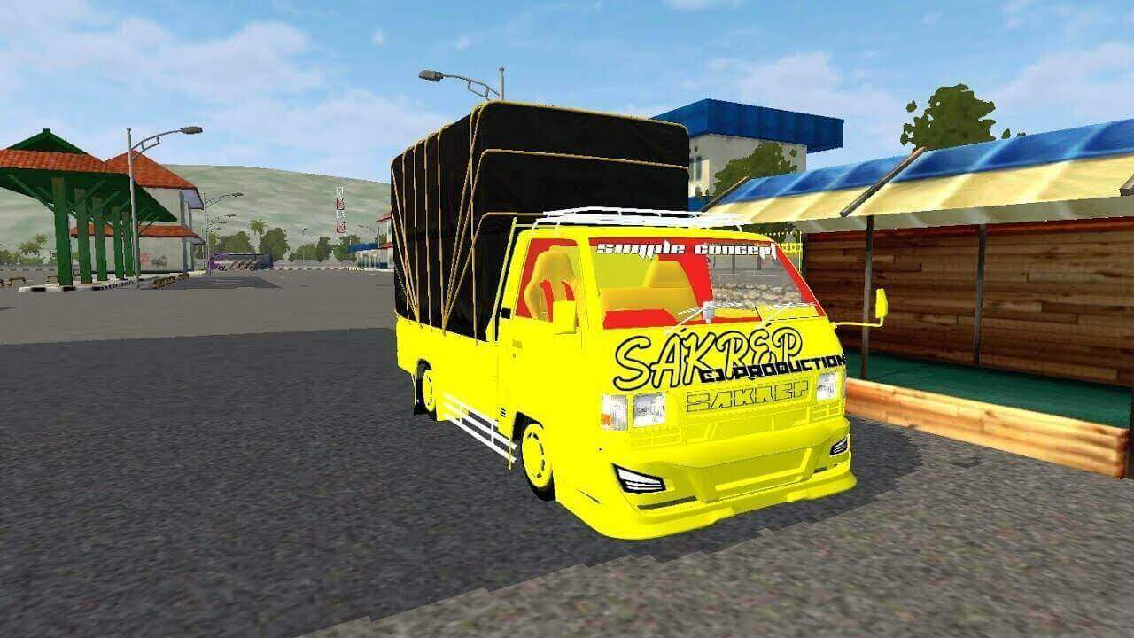Download L300 Bumper Avante truck Mod for BUSSID, BUSSID truck Mod