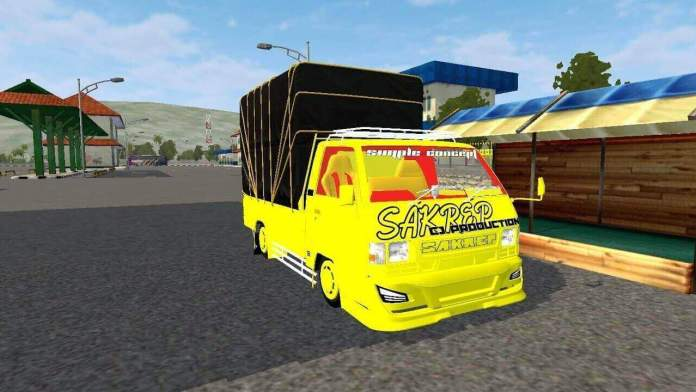 Download L300 Bumper Avante truck Mod for BUSSID, BUSSID truck Mod