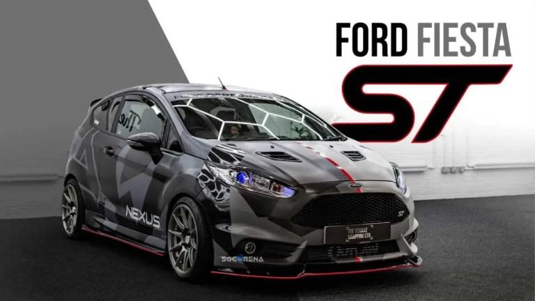 Ford Fiesta Racing Car Mod for BUSSID