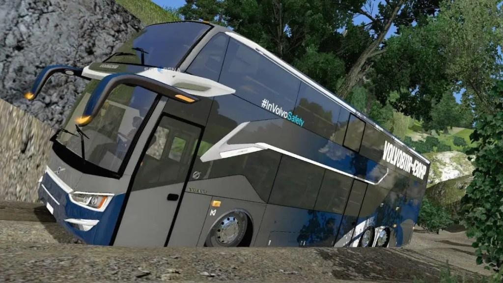 Download SR2 XDD Volvo B11R Bus Mod for BUSSID, SR2 XDD Volvo B11R, BUSSID Bus Mod, BUSSID Vehicle Mod, HF Project, SR2, Volvo B11R Bus Mod