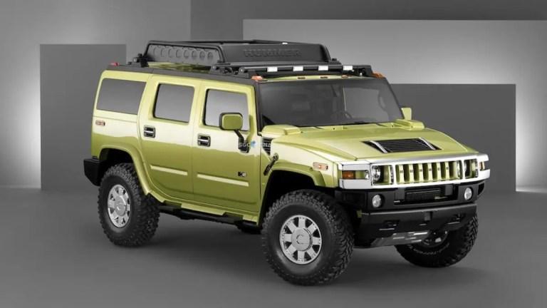 Hummer H2 Car Mod for BUSSID