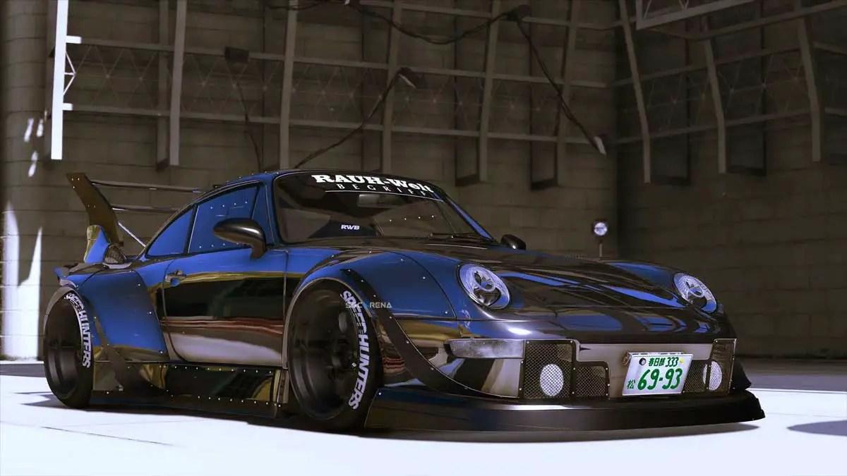 Download Porsche 911 RWB Car Mod for BUSSID, Porsche 911 RWB, BUSSID Car Mod, BUSSID Vehicle Mod, MAH Channel, Porsche