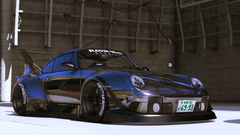 Porsche 911 RWB Car Mod for BUSSID
