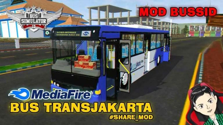 Transjakarta Bus Mod for BUSSID