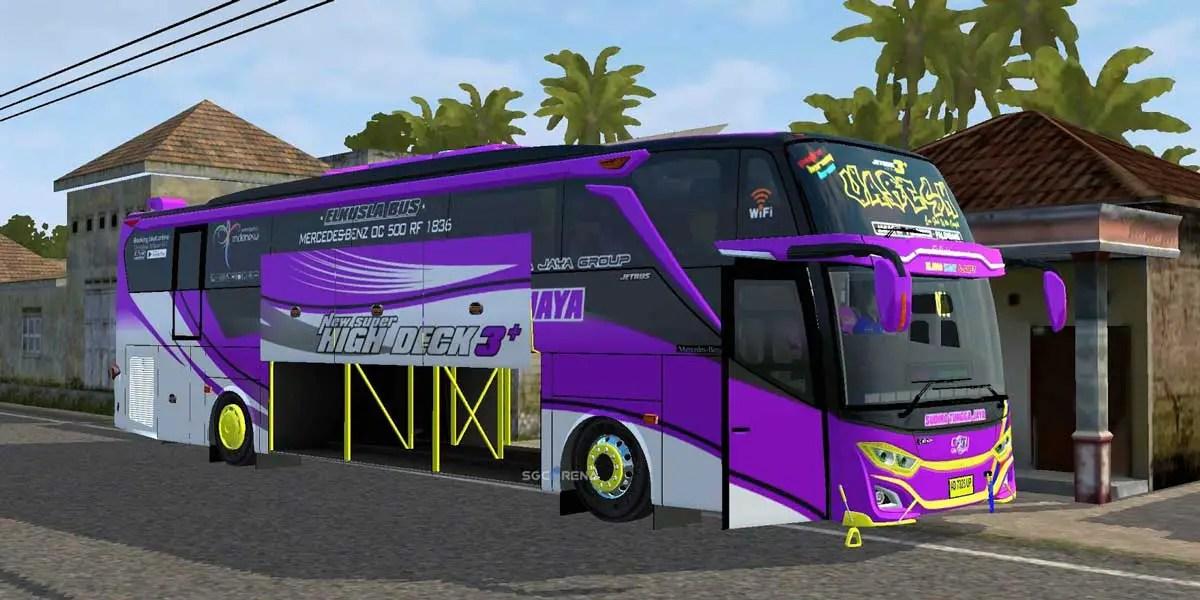 Download Jetbus 3+ SHD Mercy O500RS Bus Mod for BUSSID, Jetbus 3+ SHD Mercy O500RS, BUSSID Bus Mod, BUSSID Vehicle Mod, JB3 SHD bus Mod, JetBus3+, MD Creation
