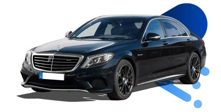 2015 Mercedes Benz S Class AMG Luxury Car Mod for BUSSID