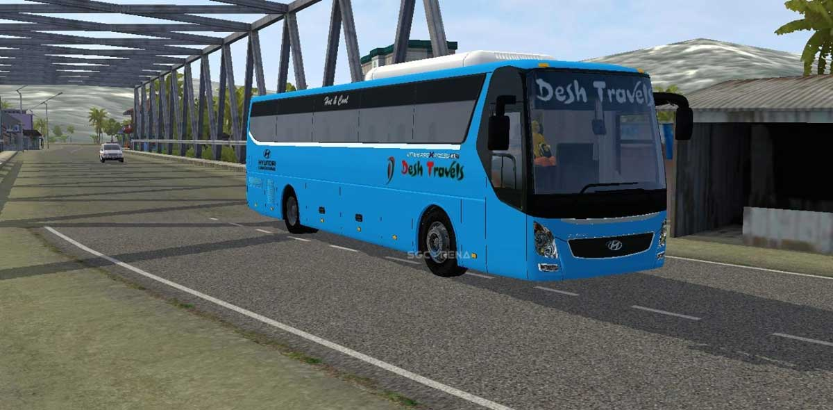 Download Hyundai UXN Bus Mod for BUSSID, Hyundai UXN, BUSSID Bus Mod, BUSSID Vehicle Mod, Fahim Auvro, Hyundai