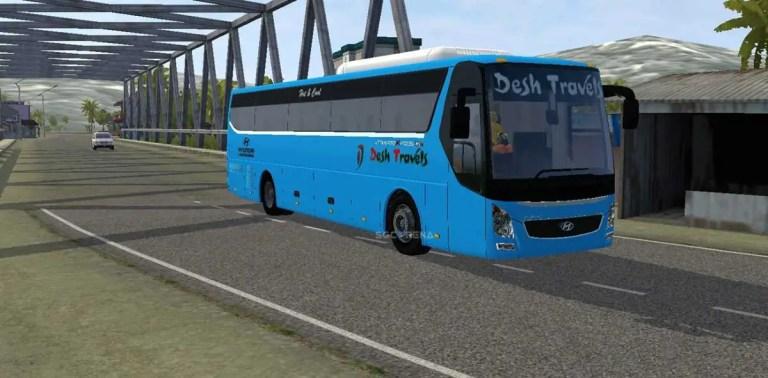 Hyundai UXN Bus Mod for BUSSID